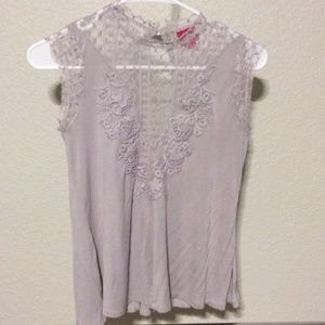 Daytrip grey lace top